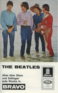 Beatles_Odeon Autogrammkarte_1966