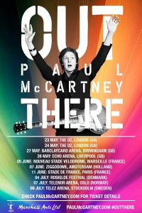 Paul McCartney-Out there-Europa 2015