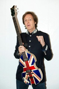 Paul McCartney-Union Jack Bass