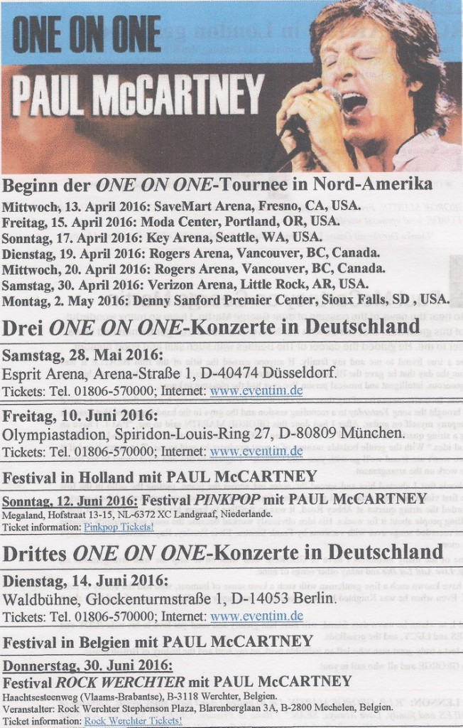 Paul McCartney - One on one_Germany 2016_25