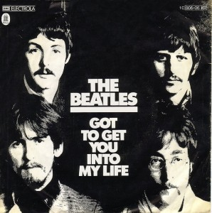 Beatles-Si-Got to get you into my life-D