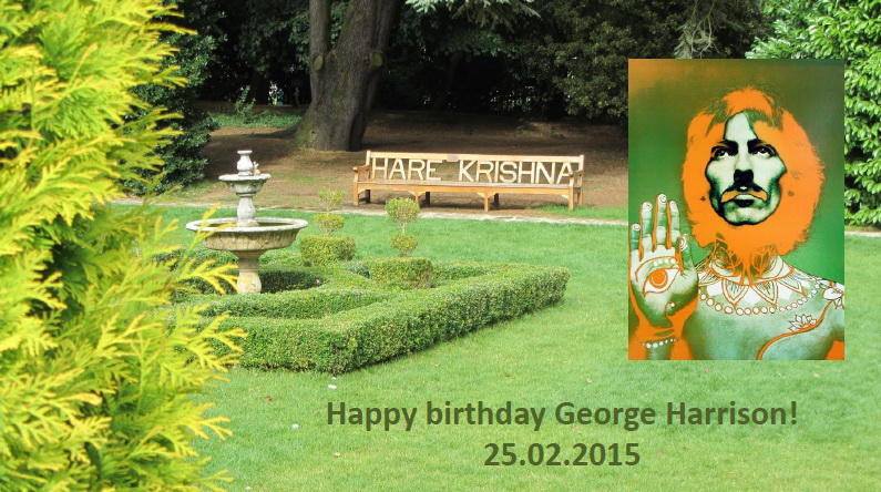 George Harrison Birthday 2015