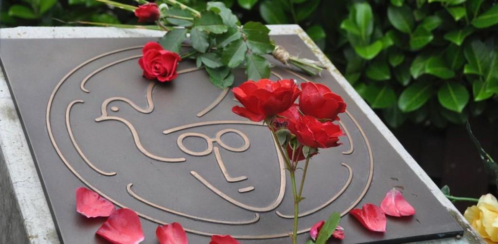 John Lennon Denkmal in Verden
