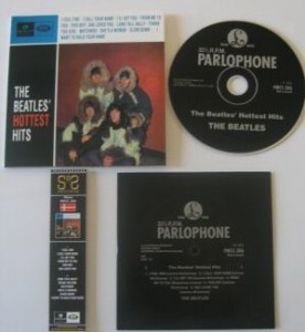 Beatles_Hottest Hits_CD_Label black