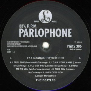 Beatles_Hottest Hits_RI_Label_a